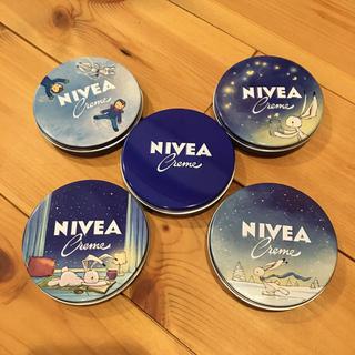 ニベア(ニベア)のニベア ドイツ 限定缶 75ml 5つセット(ハンドクリーム)