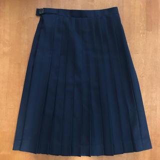OLIVEdesOLIVE - セーラー服のプリーツスカート(紺)★オリーブデオリーブ