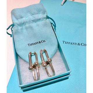 Tiffany & Co. - TIFFANY ティファニー  ハードウェア リンク ピアス