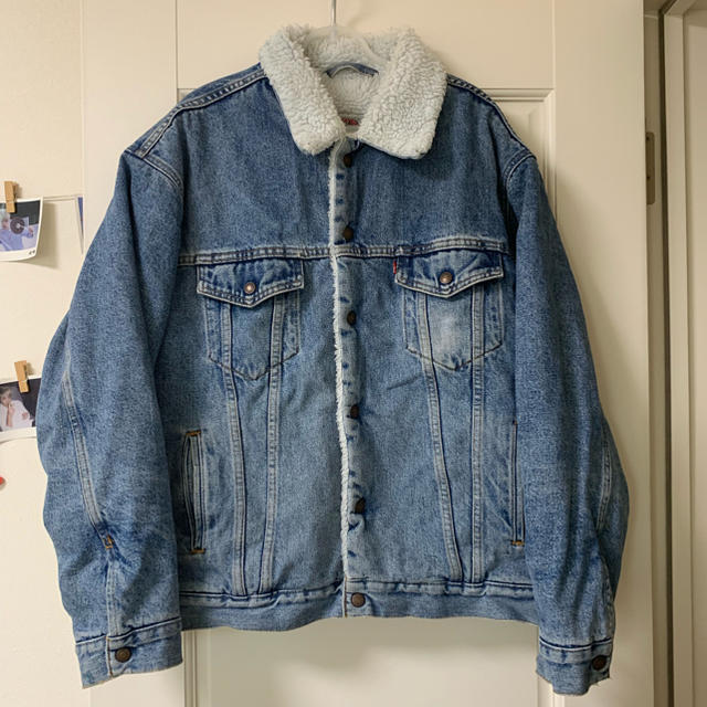 Levi's(リーバイス)のリーバイス ボアデニムジャケット メンズのジャケット/アウター(ブルゾン)の商品写真