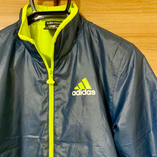 アディダス(adidas)のadidas アディダス ブルゾン アウター スポーツ トレーニング ネイビー(ウェア)
