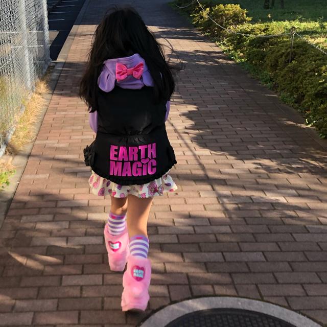 EARTHMAGIC(アースマジック)のアウター💗130cm キッズ/ベビー/マタニティのキッズ服 女の子用(90cm~)(ジャケット/上着)の商品写真