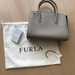 Furla - フルラ ミニトート グレー
