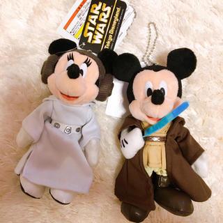 Disney - タグ付き ディズニー スターウォーズ ぬいぐるみバッジ ミッキー ミニー