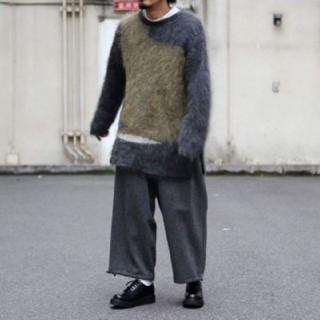 ヨウジヤマモト(Yohji Yamamoto)の新品 ヨウジヤマモト セットアップ ニット パンツ(シャツ)