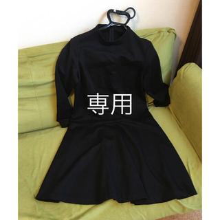 NOLLEY'S - ノーリーズ★黒シンプルなワンピース38