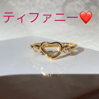 Tiffany & Co. - ティファニーK18リング