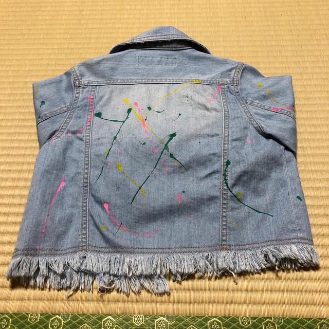 JENNI(ジェニィ)のSisterJenni×デニムジャケット キッズ/ベビー/マタニティのキッズ服 女の子用(90cm~)(ジャケット/上着)の商品写真