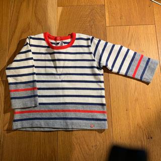 プチバトー(PETIT BATEAU)の★値引中★プチバトー 長袖Tシャツ 美品 70(Tシャツ)