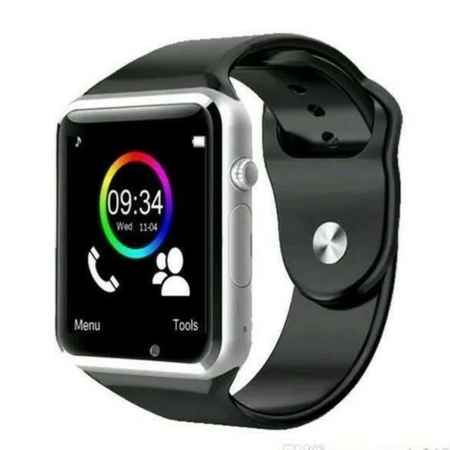 スマートウォッチ【A1】デジタル腕時計 男女兼用 ブラックの通販