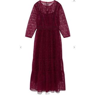 Lily Brown - リリーブラウン チュールレースドレス