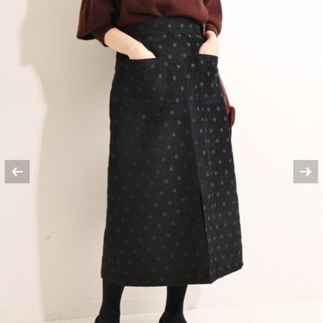 IENA(イエナ)のイエナIENA LA BOUCLE モールジャガード Aラインスカート レディースのスカート(ロングスカート)の商品写真