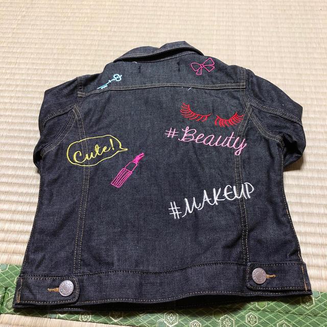 JENNI(ジェニィ)のJenni×デニムジャケット キッズ/ベビー/マタニティのキッズ服 女の子用(90cm~)(ジャケット/上着)の商品写真