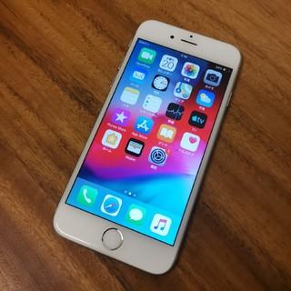 iPhone - 『液晶綺麗』iPhone6 Silver 64GB Softbank『92%』