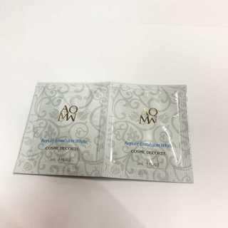 コスメデコルテ(COSME DECORTE)のコスメデコルテ AQMW リペア エマルジョン ホワイト (美白乳液)×5p(サンプル/トライアルキット)