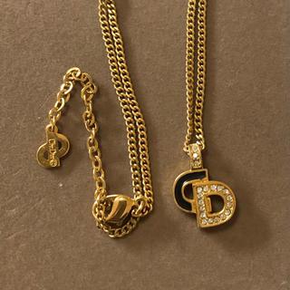 Christian Dior - 正規品 クリスチャン デイオール ネックレス DIOR