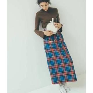 Mila Owen - Mila  Owen  ハイウエスト台形タックロングスカート size1