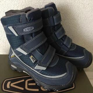 キーン(KEEN)の新品 keen キーン ウィンター ブーツ 防寒 キッズ 16(ブーツ)