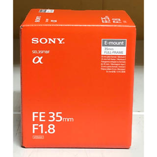 SONY - SONY FE 35mm F1.8  SEL35F18F ソニー 新品