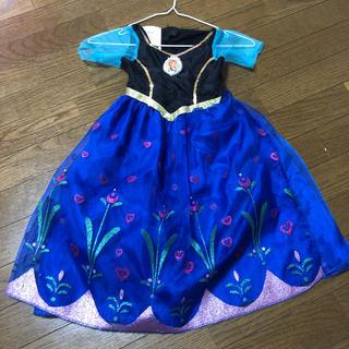 アナトユキノジョオウ(アナと雪の女王)の☆アナと雪の女王 ドレス 100~110cm(衣装)