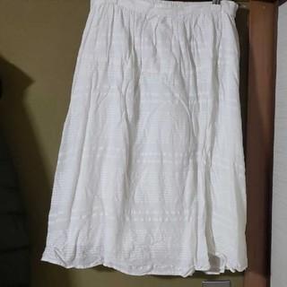 イッカ(ikka)の夏物 スカート(ひざ丈スカート)