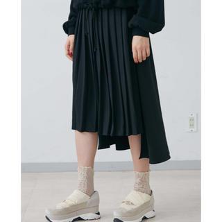 merry jenny - Backフレアプリーツスカート