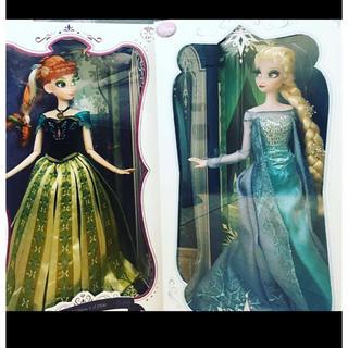 Disney - 最終価格⭐️ アナと雪の女王 エルサ リミテッド ドール アナ 2体 デザイナー