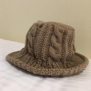ジャーナルスタンダード(JOURNAL STANDARD)のSALE♡縄編みknit hat   moca(ハット)