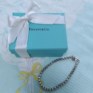 Tiffany & Co. - TIFFANY ベネチアンブレスレット 本物