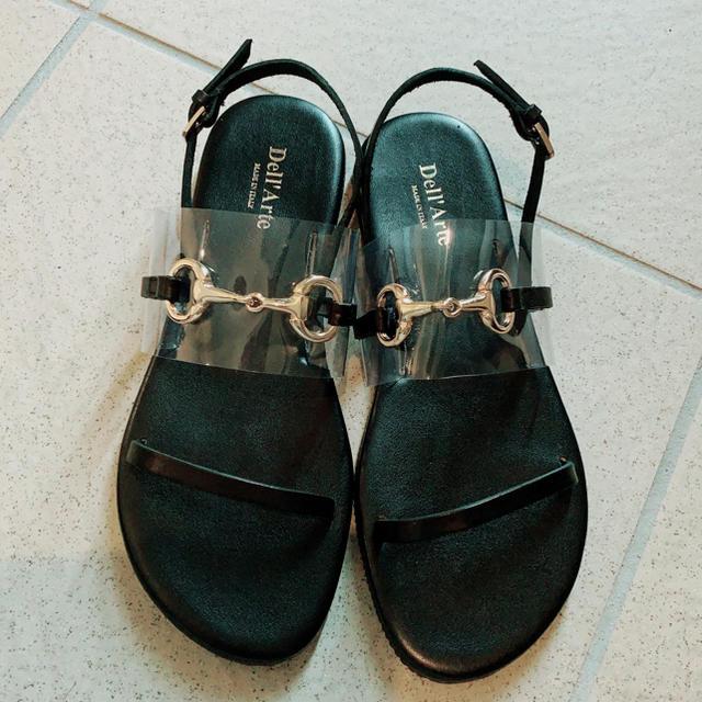 TOMORROWLAND(トゥモローランド)の新品未使用!トゥモローランド ★Dell'Arte PVC×ビットサンダル レディースの靴/シューズ(サンダル)の商品写真