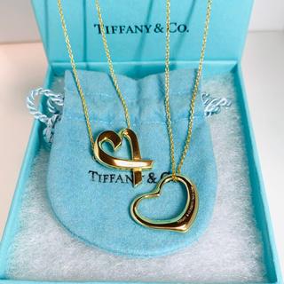Tiffany & Co. - ティファニー 廃盤レア品 ラビングハート ネックレス オープンハートネックレス