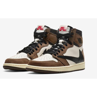 NIKE - travis scott nike  air jordan 1