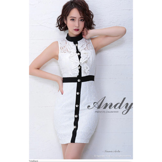 アンディ(Andy)のAndy ミニドレス(ミニドレス)