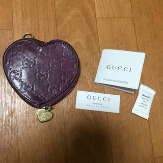 Gucci - グッチ コインケース 紫