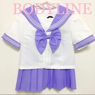 ボディライン(BODYLINE)のBODYLINE カラーセーラー セーラー服 コスプレ R指定 バンギャ ライブ(衣装)