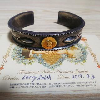 ゴローズ(goro's)の最終値下げラリースミス LARRYSMITH 6周年ワンオフバングル(ブレスレット)
