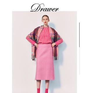 Drawer - 2019 drawer ドゥロワー  グレンチェックスカート 38