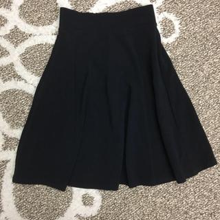 GU - GU タック入り ブラック スカート