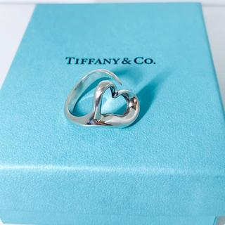 Tiffany & Co. - ティファニーオープンハートリング