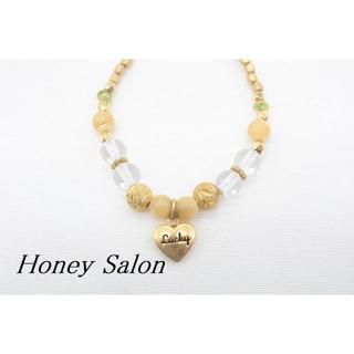 ハニーサロン(Honey Salon)の【S480】Honey Salon Lucky ハート プチ ブレスレット(ブレスレット/バングル)