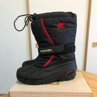 ソレル(SOREL)のSOREL キッズスノーブーツ 21cm(ブーツ)