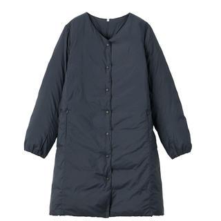 ムジルシリョウヒン(MUJI (無印良品))の無印良品ポケッタブルコートSサイズ(ダウンコート)