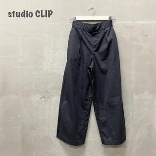 STUDIO CLIP - 【studio  CLIP】タックパンツ スタディオクリップ