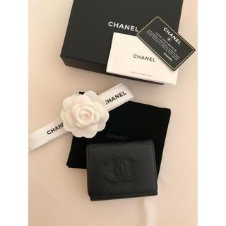 CHANEL - 極美品 CHANEL シャネル コンパクト財布