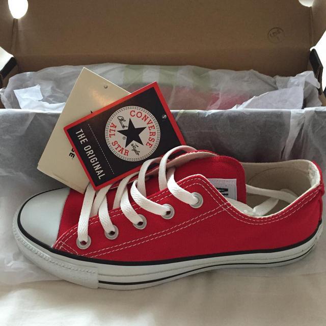 CONVERSE(コンバース)のオールスター 赤 23 レディースの靴/シューズ(スニーカー)の商品写真