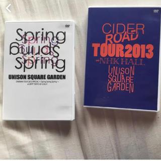 ユニゾンスクエアガーデン(UNISON SQUARE GARDEN)のUNISON SQUARE GARDEN DVDセット(ミュージシャン)