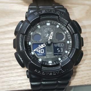 ジーショック(G-SHOCK)のCASIO  G-SHOCK  GA-100BT 美品(腕時計(アナログ))