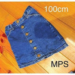 エムピーエス(MPS)のライトオン  MPS デニム  デニムスカート  100 100センチ(スカート)