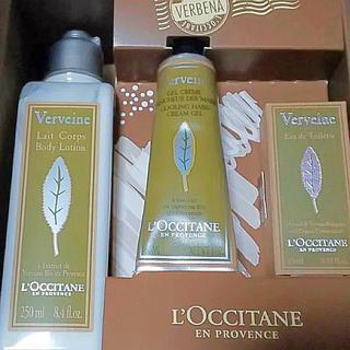 L'OCCITANE - ロクシタン ヴァーベナオードトワレ香水とハンドクリームボディクリームセット新品