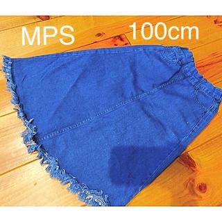 エムピーエス(MPS)のライトオン  スカート  デニム  デニムスカート  100センチ(スカート)